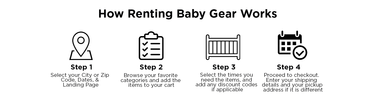 How to Rent Baby Gear