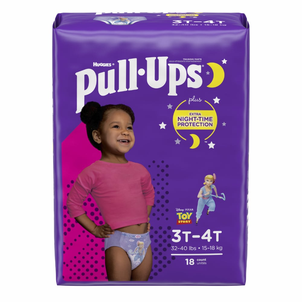 Huggies Pull Up Girls Pants 2T-3T 18