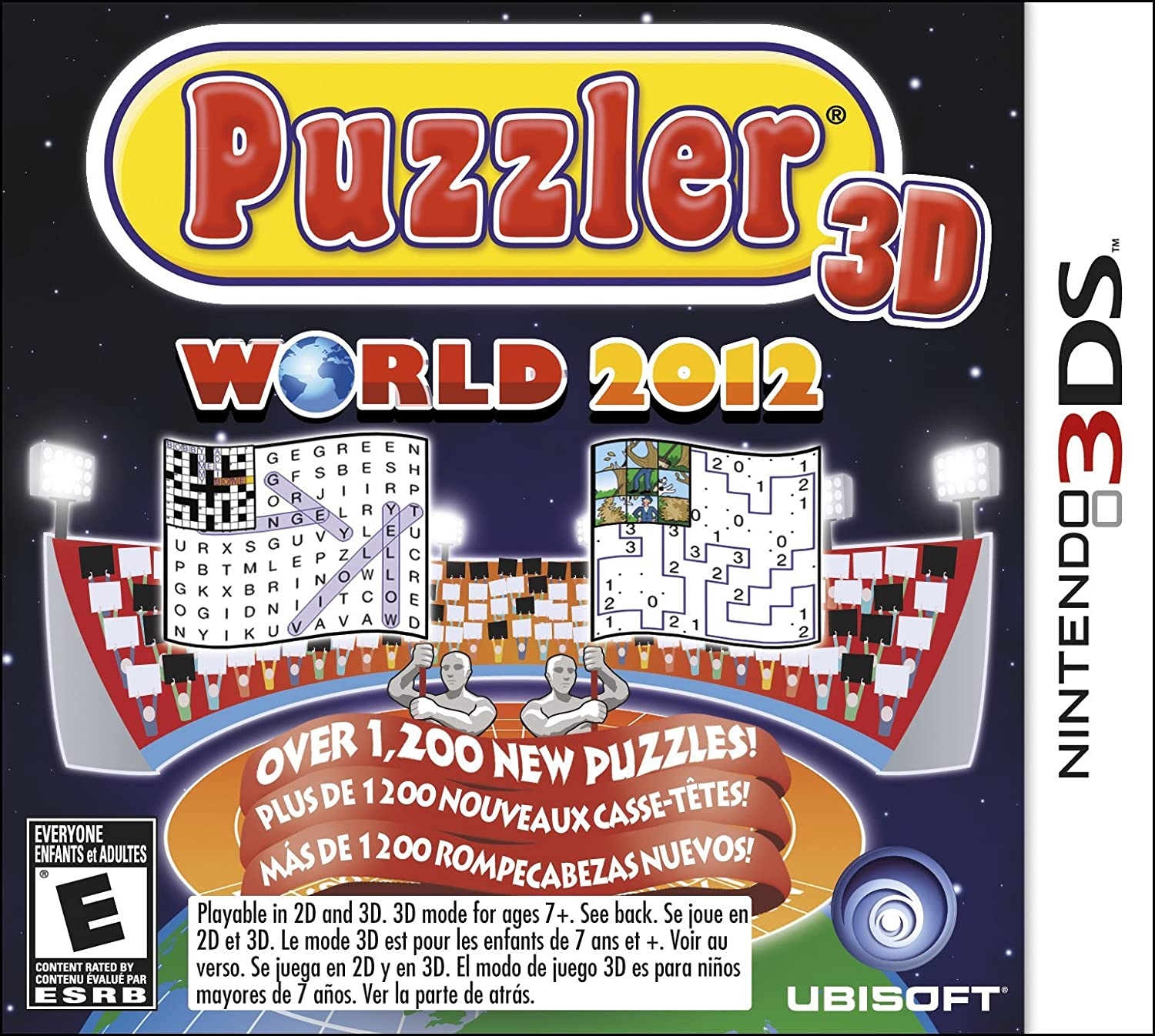 Puzzler World 2012 3D - Nintendo 3DS