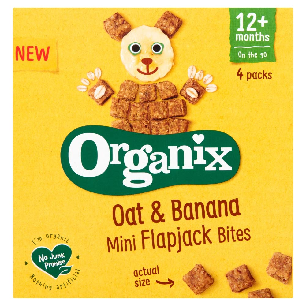 Organix Oat & Banana Flapjack