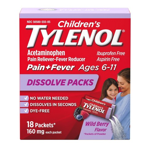 Children's Tylenol 18