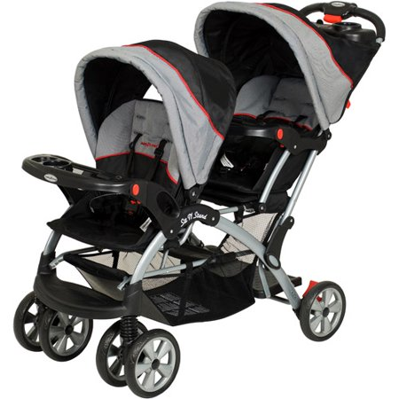 Baby Trend Sit N Stand Double Stroller, Riviera