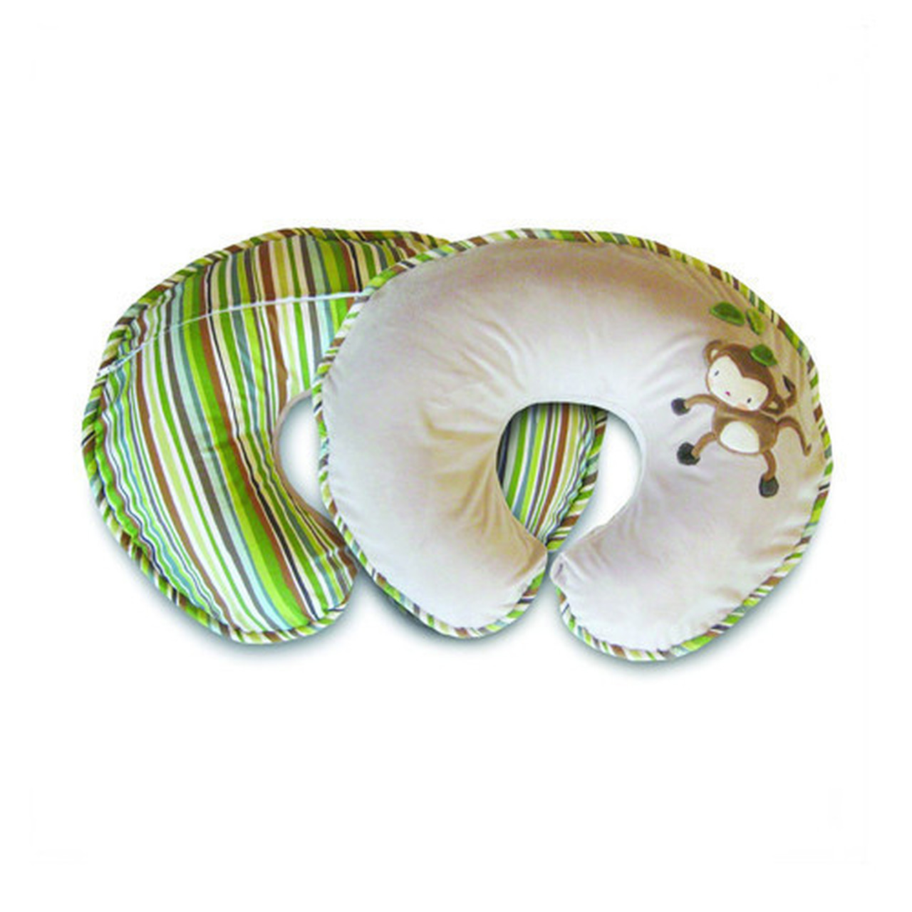 Boppy Nursing Pillow and Positioner, Luxe Monkey Chevron