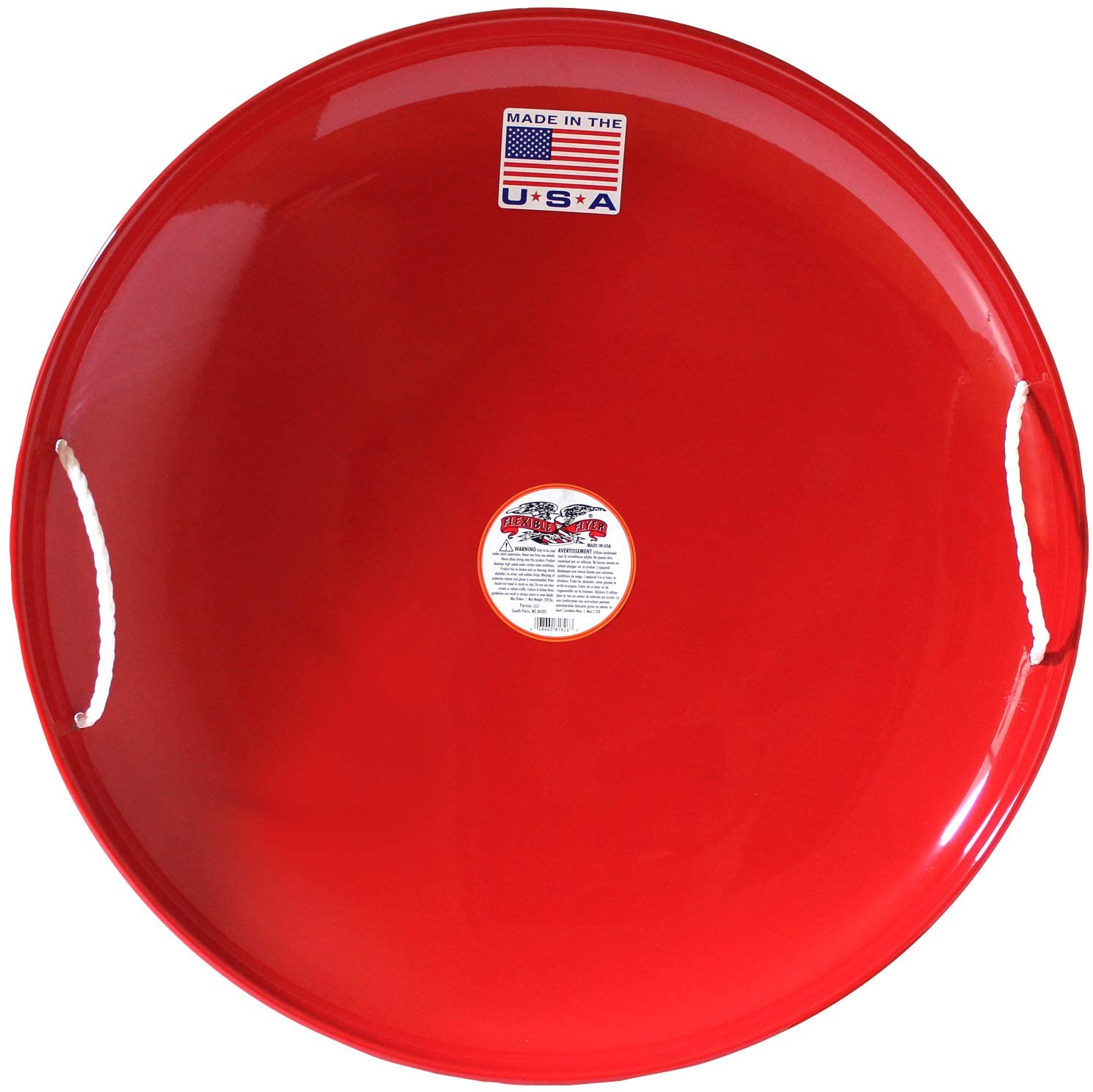 Metal Snow Disc Saucer