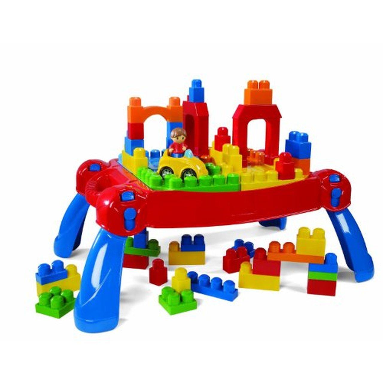 Mega Bloks Play 'n Go Table (Colors May Vary)