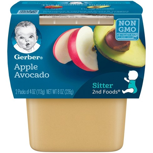 Gerber Apple Avocado Meals