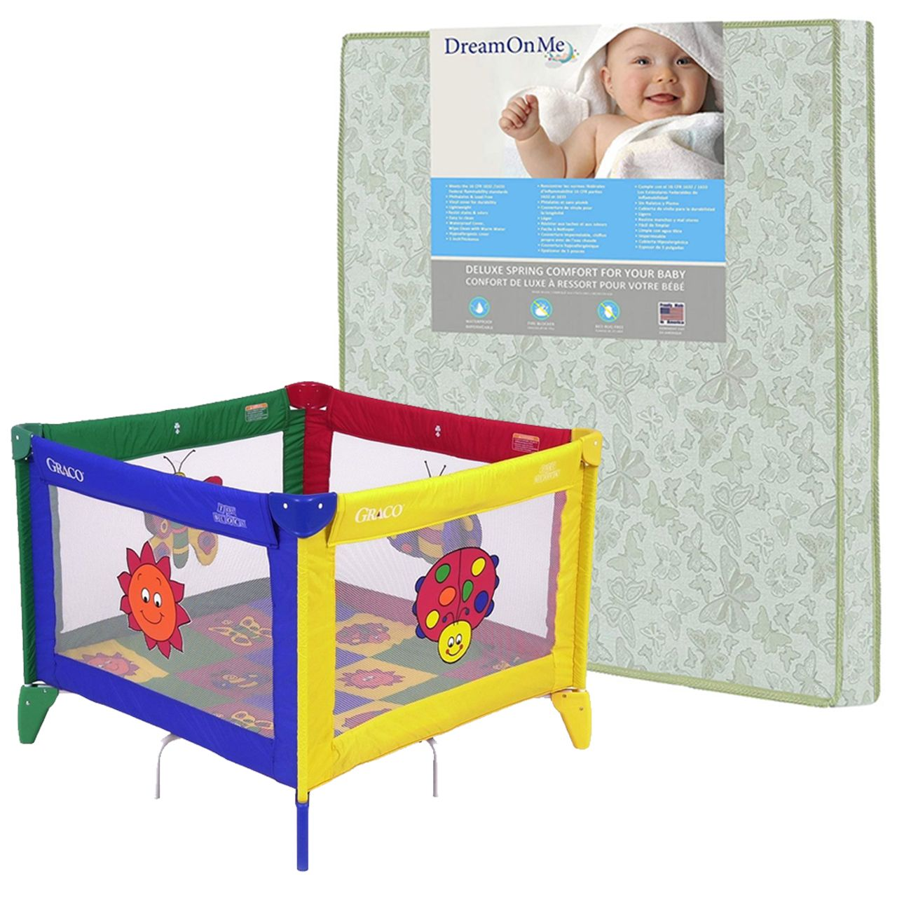 Package 13 (GRACO TOTBLOC WITH MATTRESS)