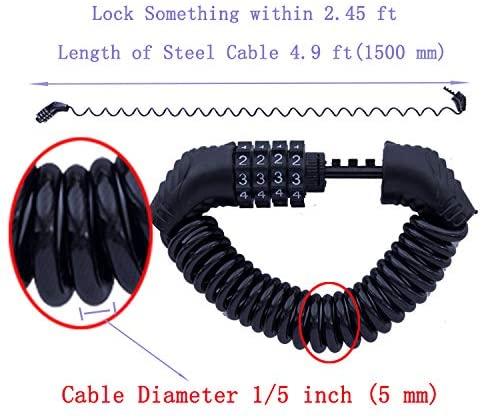 Portable Mini Bicycle Lock Anti-Theft