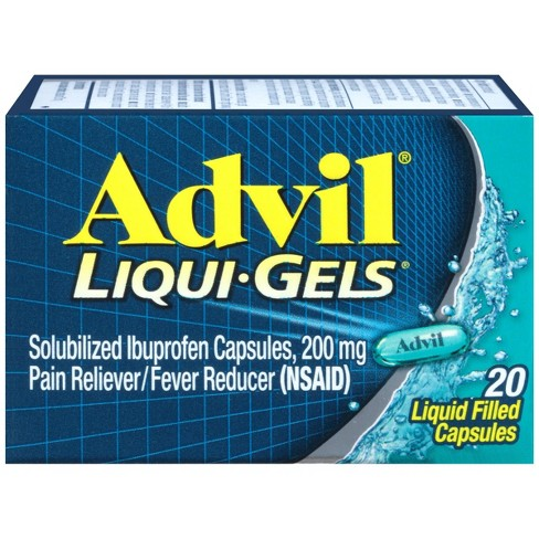 Advil Liqui-Gels Pain Reliever 20