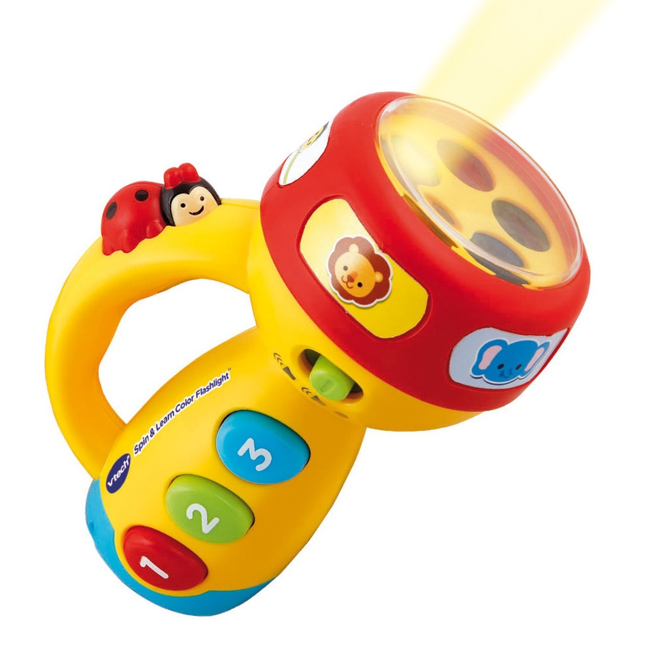 Roll over image to zoom in VTech Spin and Learn Color Flashlight