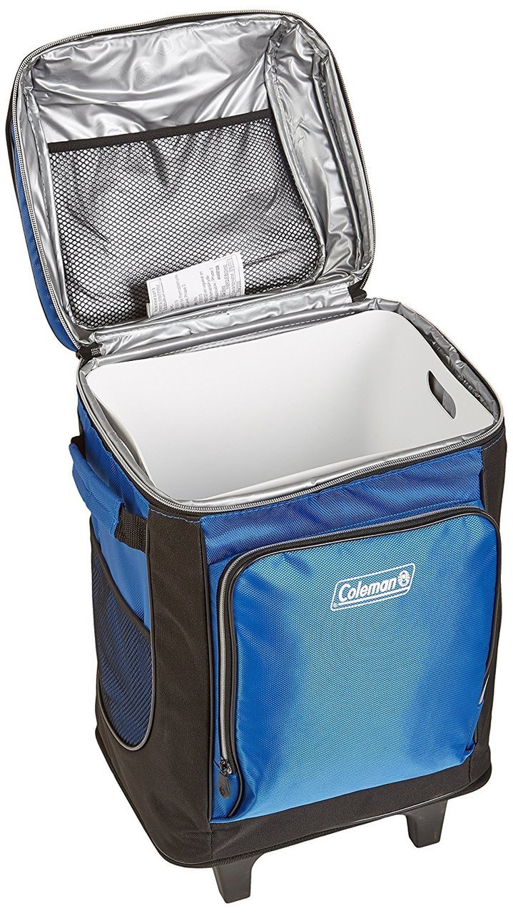 Coleman 42-Can Wheeled Soft Cooler With Hard