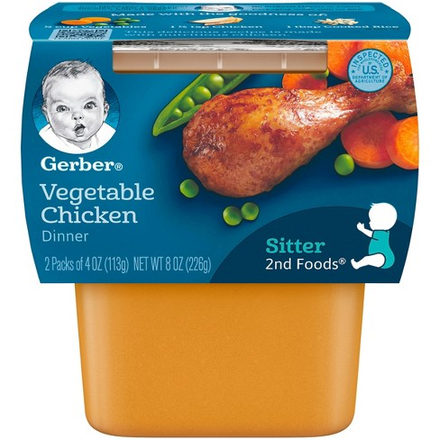 Gerber Vegetable Chicken Meals