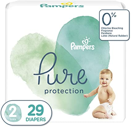 Pampers Pure Protection Diapers Size 2 29