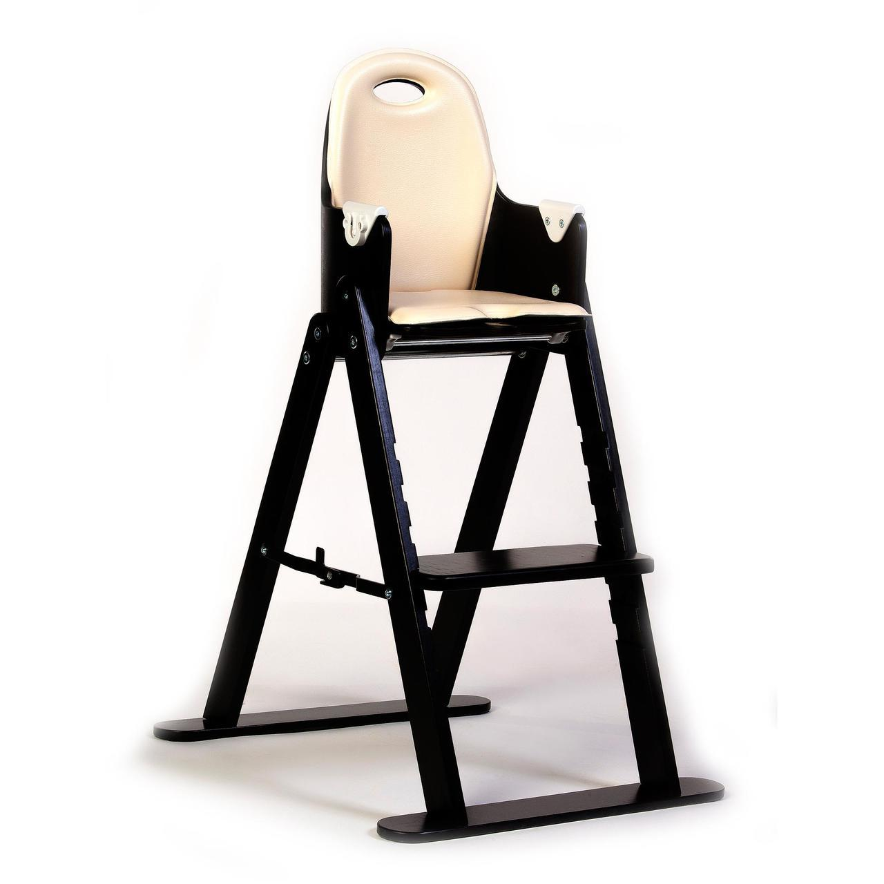 Svan Baby to Booster Bentwood Folding High Chair with Removable Cushion and Harness