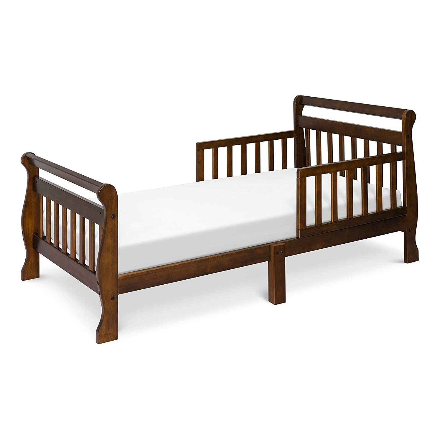 Davinci Elizabeth II Convertible Toddler Bed Includes Mattress & Sheets