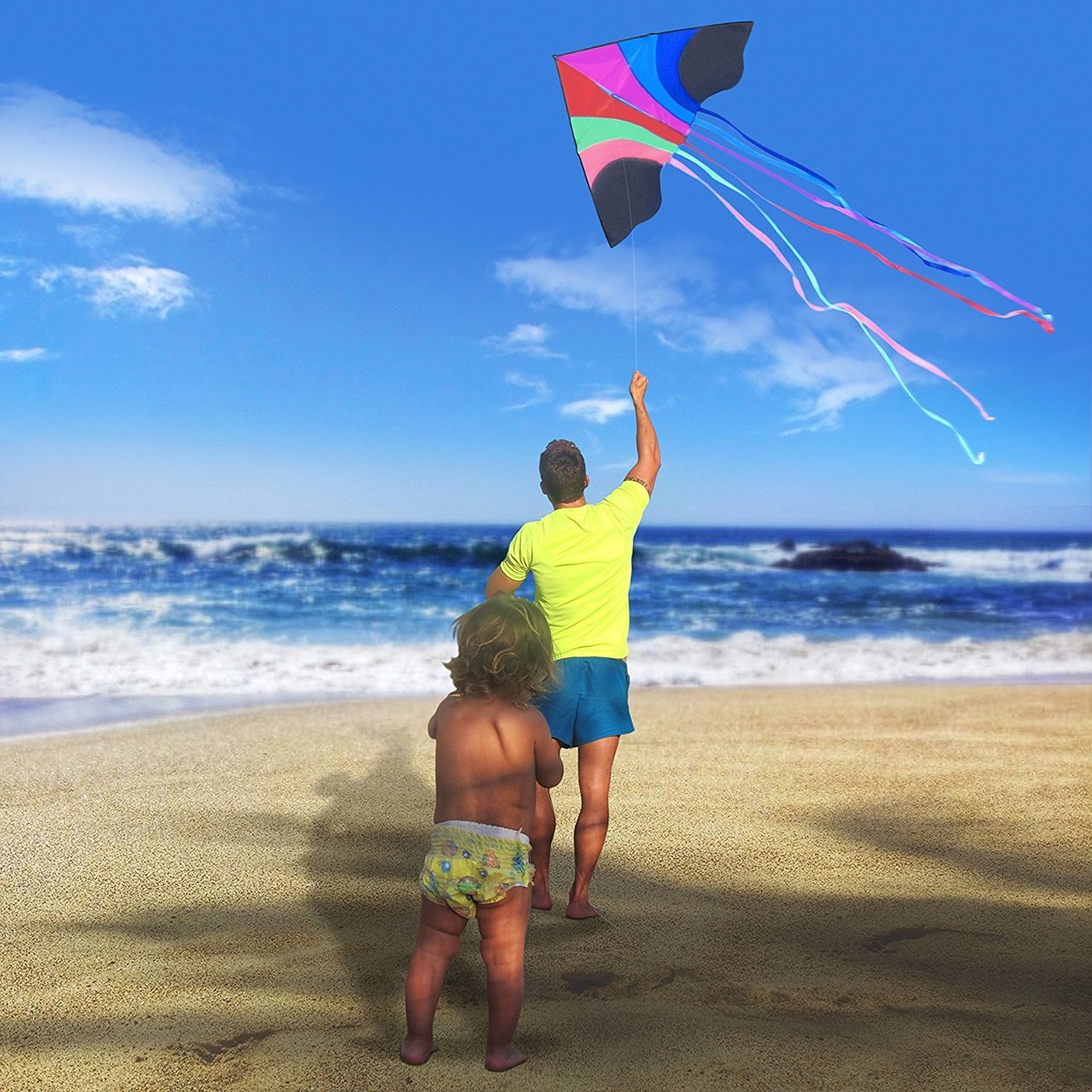 Kite – Huge Rainbow Kite