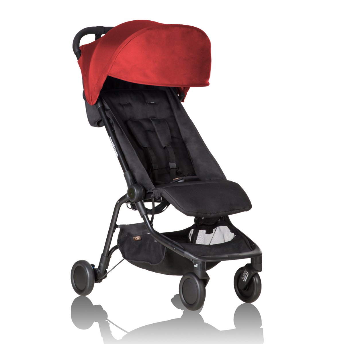 Mountain Buggy Nano Stroller Ruby
