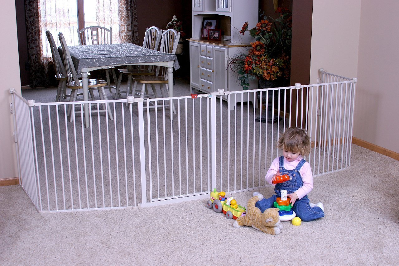 Regalo 4 In 1 Metal Play Yard